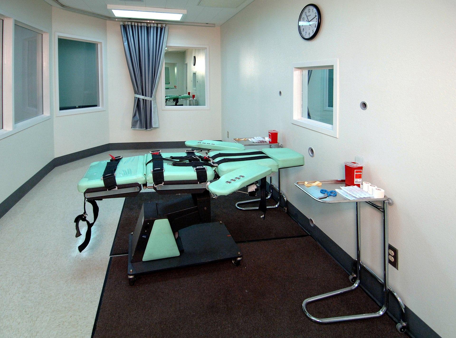Death chamber San Quentin
